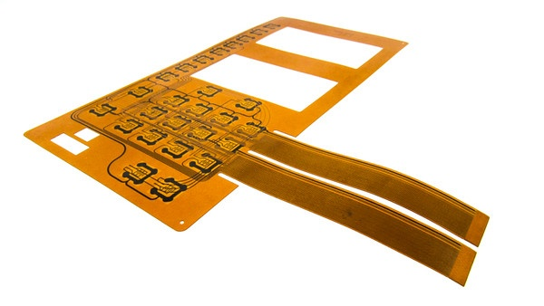 HMI Circuit Technology Built with Silver Ink on Polyester