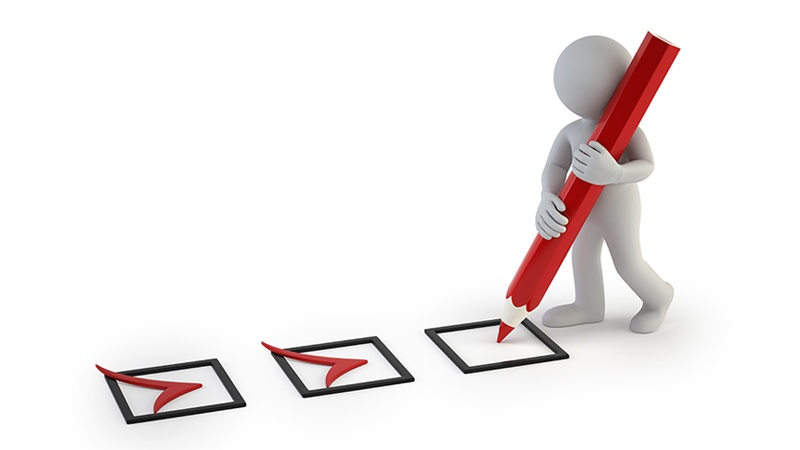 sending supplier surveys